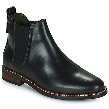 Topánky Ženy Polokozačky Barbour FOXTON Čierna