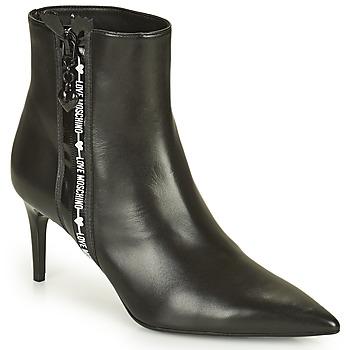 Topánky Ženy Polokozačky Love Moschino JA21107G1D Čierna