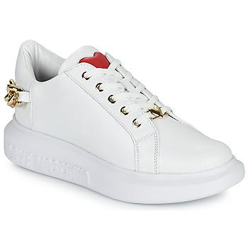 Topánky Ženy Nízke tenisky Love Moschino JA15144G1D Biela