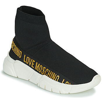 Topánky Ženy Členkové tenisky Love Moschino JA15633G0D Čierna