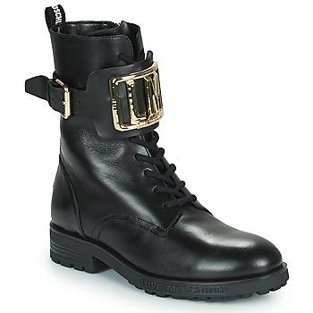 Topánky Ženy Čižmičky Love Moschino JA21374G0D Čierna