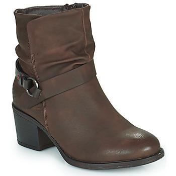 Topánky Ženy Čižmičky Emmshu FLEUR Hnedá