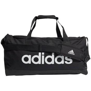Tašky Športové tašky adidas Originals Linear Duffel M Biela, Čierna