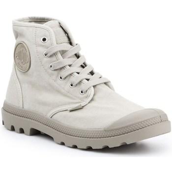 Topánky Muži Členkové tenisky Palladium Pampa HI Sivá