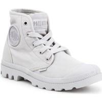 Topánky Ženy Členkové tenisky Palladium Manufacture Pampa HI Sivá