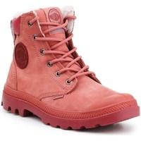 Topánky Ženy Snehule  Palladium Manufacture Pampa Sport Cuff Wps Červená