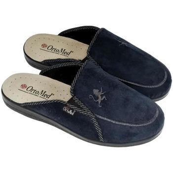 Topánky Muži Papuče Mjartan Pánske papuče  DARIUS tmavomodrá