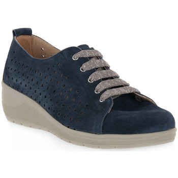 Topánky Muži Derbie Grunland BLU 68DAPE Blu