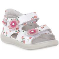 Topánky Chlapci Sandále Naturino FALCOTTO 0N01 BESENVAL WHITE Bianco