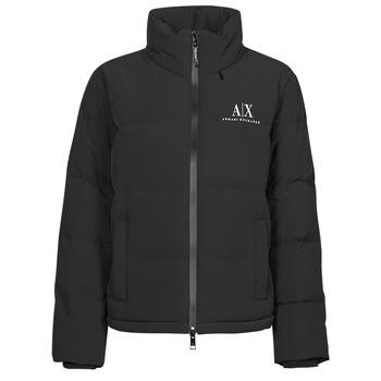 Oblečenie Ženy Vyteplené bundy Armani Exchange 6KYB11 Čierna