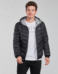 Oblečenie Muži Vyteplené bundy Armani Exchange 8NZB53 Čierna