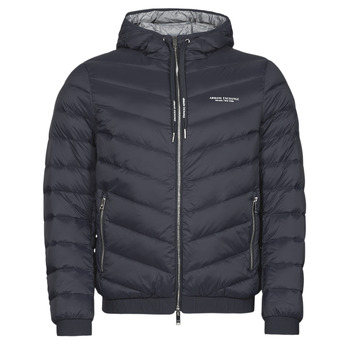 Oblečenie Muži Vyteplené bundy Armani Exchange 8NZB53 Námornícka modrá