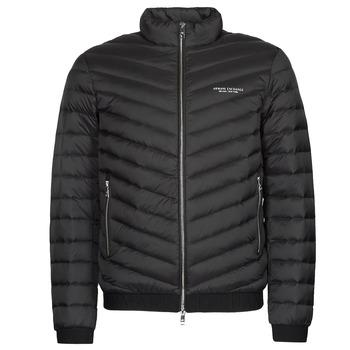 Oblečenie Muži Vyteplené bundy Armani Exchange 8NZB52 Čierna