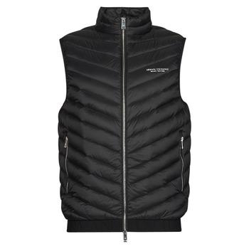 Oblečenie Muži Vyteplené bundy Armani Exchange 8NZQ52 Čierna