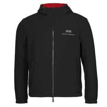 Oblečenie Muži Bundy  Armani Exchange 6KZB56 Čierna