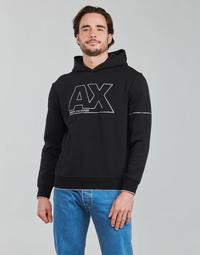 Oblečenie Muži Mikiny Armani Exchange 6KZMFF Čierna
