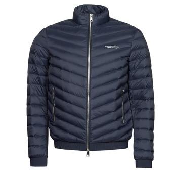 Oblečenie Muži Vyteplené bundy Armani Exchange 8NZB52 Námornícka modrá