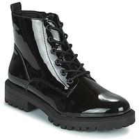 Topánky Ženy Polokozačky Esprit SIMEONA Čierna