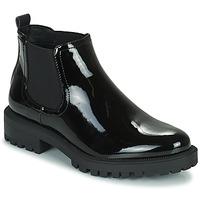 Topánky Ženy Polokozačky Esprit FINELLA Čierna