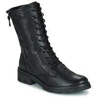 Topánky Ženy Polokozačky Ara DOVER Čierna