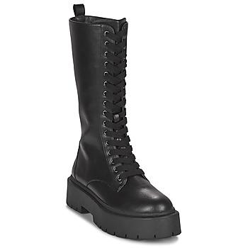 Topánky Ženy Čižmy do mesta Gioseppo KITUI Čierna