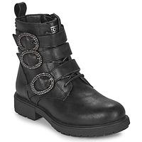 Topánky Dievčatá Polokozačky Gioseppo GOUVY Čierna