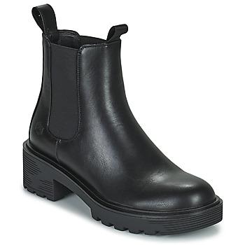 Topánky Ženy Polokozačky Lumberjack RAMONE BEATLES Čierna