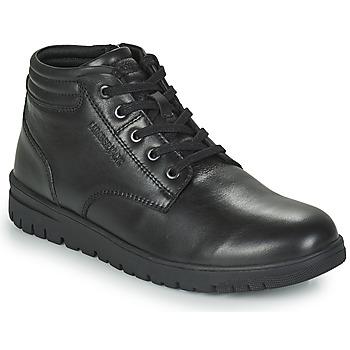 Topánky Muži Polokozačky Lumberjack ALFRED LOW BOOT LACE Čierna