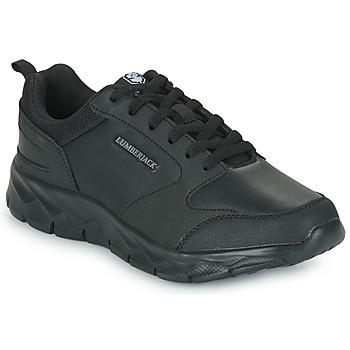 Topánky Muži Nízke tenisky Lumberjack RAM SNEAKER Čierna