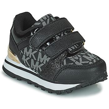 Topánky Dievčatá Nízke tenisky MICHAEL Michael Kors BILLIE JOGGER H&L Čierna / Zlatá