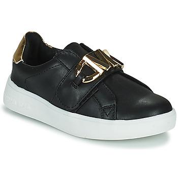 Topánky Dievčatá Nízke tenisky MICHAEL Michael Kors JEM MK Čierna / Zlatá
