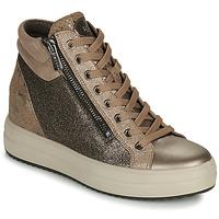 Topánky Ženy Členkové tenisky IgI&CO DONNA SHIRLEY Béžová / Zlatá