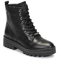 Topánky Ženy Polokozačky Refresh  Čierna