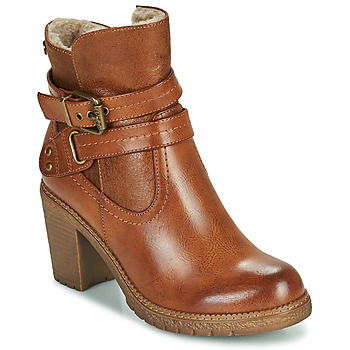 Topánky Ženy Čižmičky Refresh 78969 Ťavia hnedá