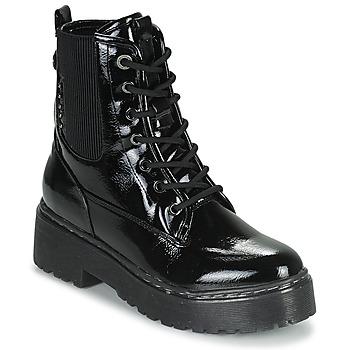 Topánky Ženy Polokozačky Refresh 76084 Čierna