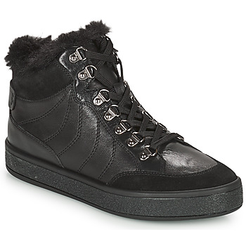 Topánky Ženy Polokozačky Geox LEELU Čierna