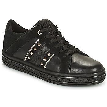Topánky Ženy Nízke tenisky Geox LEELU Čierna