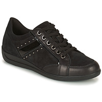 Topánky Ženy Nízke tenisky Geox MYRIA Čierna