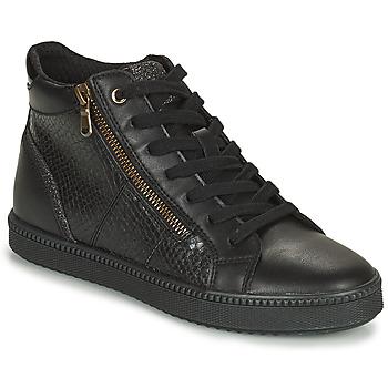 Topánky Ženy Členkové tenisky Geox BLOMIEE Čierna