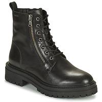 Topánky Ženy Čižmičky Geox IRIDEA Čierna