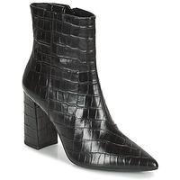 Topánky Ženy Čižmičky Geox BIGLIANA Čierna