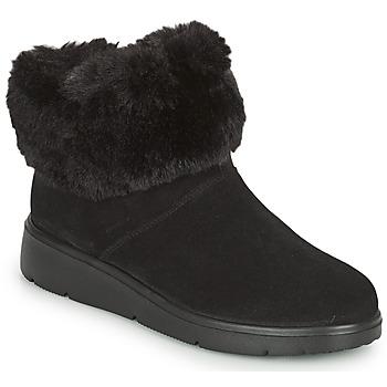 Topánky Ženy Polokozačky Geox ARLARA Čierna