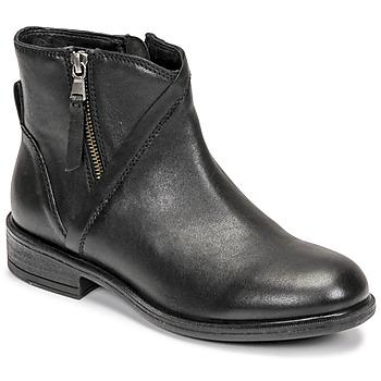 Topánky Ženy Čižmičky Geox CATRIA Čierna