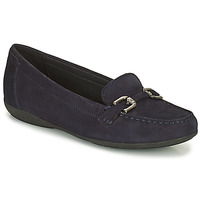Topánky Ženy Mokasíny Geox ANNYTAH Námornícka modrá