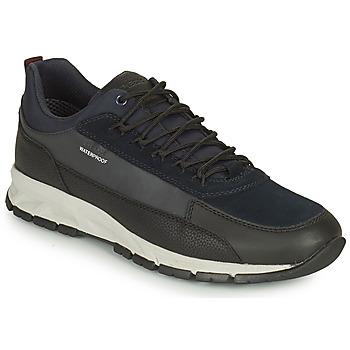 Topánky Muži Nízke tenisky Geox DELRAY WPF Námornícka modrá / Čierna