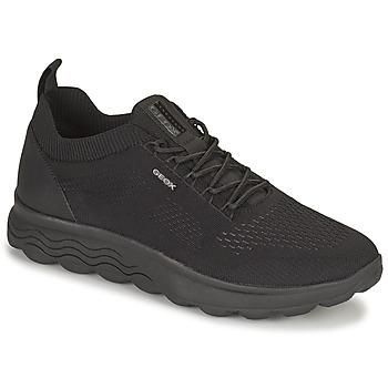 Topánky Muži Nízke tenisky Geox SPHERICA Čierna