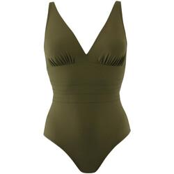 Oblečenie Ženy Plavky jednodielne Janine Robin 991015-25 Zelená