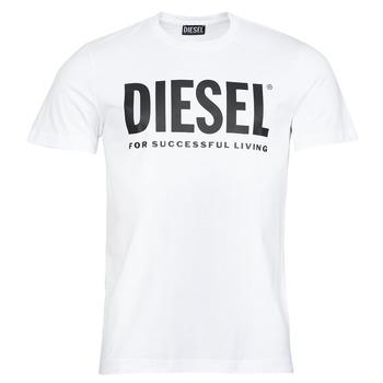 Oblečenie Muži Tričká s krátkym rukávom Diesel T-DIEGOS-ECOLOGO Biela