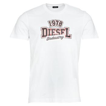 Oblečenie Muži Tričká s krátkym rukávom Diesel T-DIEGOS-K26 Biela