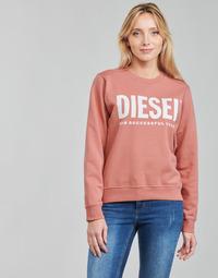 Oblečenie Ženy Mikiny Diesel F-ANGS-ECOLOGO Ružová